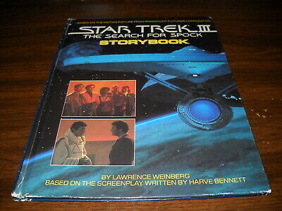 Star Trek III: The Search for Spock Storybook Hardcover