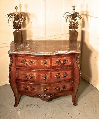 Early 19th century French Bombe Commode Chest of Drawers