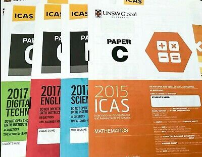 ICAS Year 5 -All the Past Papers [ 68 PDF Papers with Answers]