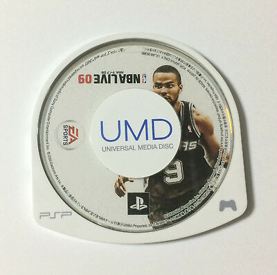 USED PSP Disc Only NBA LIVE 09 JAPAN Sony PlayStation Portable import Japanese