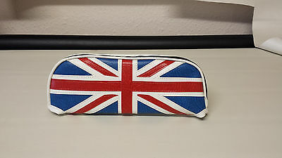 ajs modena/milano Slipover Back Rest Pad union jack Design