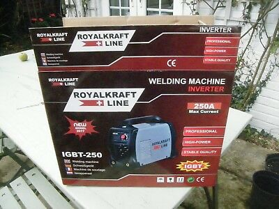 Inverter Welder 250 Amp Igbt Professional Heavy Duty Machine Brand New  Boxed