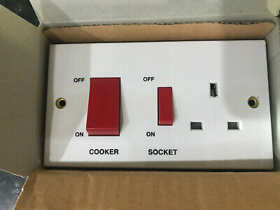 VOLEX 45A COOKER Control 13A Wall Socket Brushed Chrome ... on light switch blue, light switch terminals, light dimmer switch, light switch insulation, light switch connections, light switch repair, light switch operation, light switch paint, light switch socket, light switches, light switch breakers, light switch grounding, light switch three, light switch painting, light switch parts, light switch interior, light bulb, light switch installation, light switch lamps, light switch electrical,