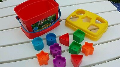 Fisher Price Baby's First Blocks 12 piece Shape Sorter