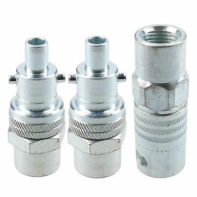 """PCL Instant Air Coupler 1/4"""" BSP Female Thread & Male Adaptors Fitting Swivel"""
