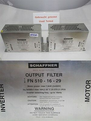 Conductor Output Filter FN 510-16-29 7,5kw
