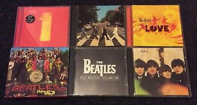 The Beatles CD Bundle Abbey Road Past Masters For Sale Sgt Peppers Love Hits