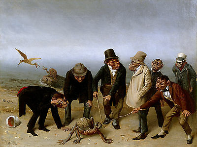 William Holbrook Beard The Discovery Of Adam  Wall  Art  Canvas