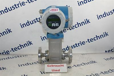 Endress + Hauser Promag 33a 33at15-fd1aa11a21t Flow Meter 33at15fd1aa11a2