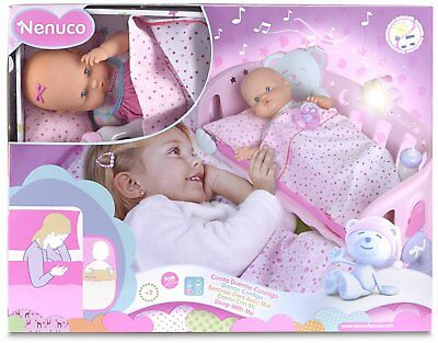 Nenuco -700014059 Culla Sleep Conmigo Color Rosa , Famoso 700014059