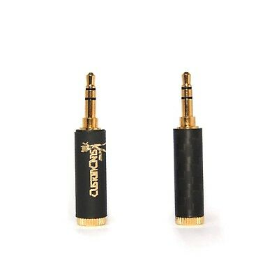 Custom Cans Balanced Push-on Jack Adapter 2.5mm TRRS Socket to 3.5mm TRS Jack