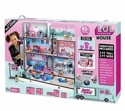 L.O.L. Surprise! House with 85+ Surprises LOL DOLLHOUSE DOLL HOUSE IN HAND NEW