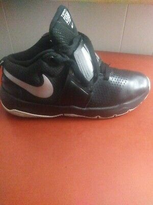 newest 53613 f1de4 Nike 881941-001   Kids Team Hustle D 8 GS Black Silver White Basketball