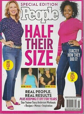 Special Edition PEOPLE Half Their Size 2019 Weight Loss/Menus/Recipes