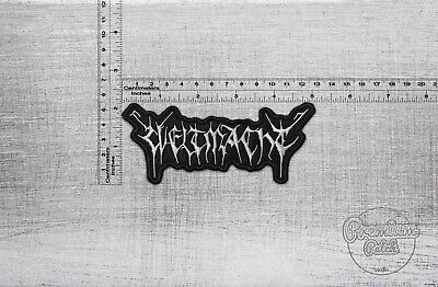 """5,12/"""" x 3,15/"""" Wretched band badge logo patch 13cm x 8cm"""