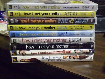 (9) How I Met Your Mother Season DVD Lot: Seasons 1-9   Complete Series  (1) NEW