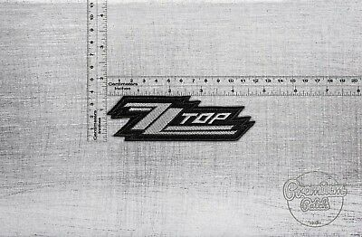 "ZZ TOP Iron On Sew On Embroidered Patch Badge 4.2/""x2/"""