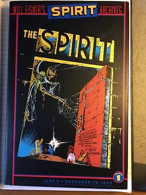 Will Eisner's Spirit Archives Vol 1 DC 2000 2nd printing Hardback Read once