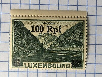 Germany LUXEMBOURG 1940, WWII-GERMAN OCCUPATION  100 Rpf. MNH  /S1