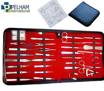 Ophthalmic Cataract Eye Micro Surgery Surgical Instruments Set Kit 33 Pieces