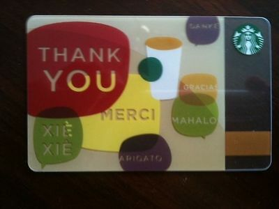 Starbucks Collectible Gift Card No $ Value On Card Bilingual