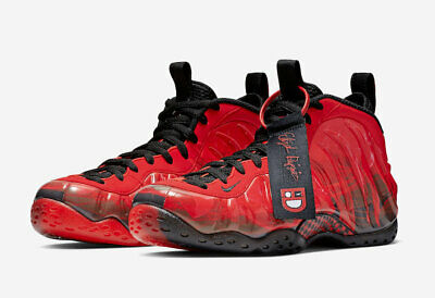 d9ff41a1bf396 New 2019 Nike Air Foamposite One Doernbecher Challenge Red black 641745-600