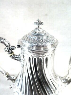 Nice French TEAPOT (called EGOISTIC because just done for 2) in STERLING SILVER