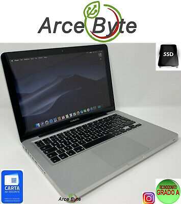"APPLE MACBOOK PRO 13"" INTEL CORE i5 256GB SSD RAM 8GB MOJAVE GRADO A FATTURABILE"