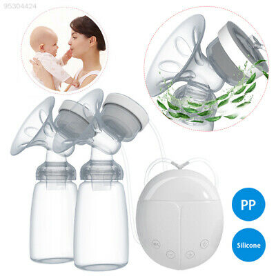 9865 Double Breast Pump Milk Collector Breast Massager Electronic