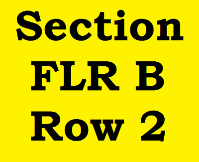 2 Tickets Chicago at the Golden Nugget Lake Charles LA Friday July 5, 2019