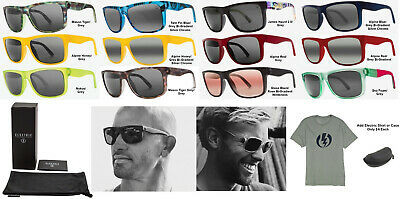 NEW Electric Swingarm Kelly Slater Pro Melanin Lens Mens Square Sunglasses Rt$90