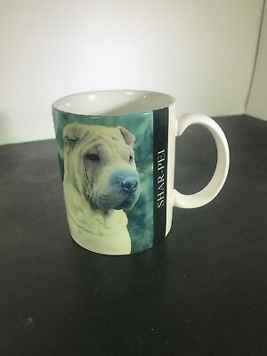 Shar Pei Coffee Mug Cup Barbara Augello 1994