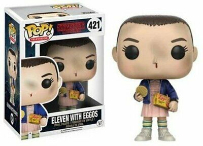 Funko Pop Stranger Things Eleven with Eggos Vinyl Figure , Styles May Vary - Wit