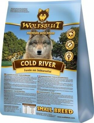 Wolfsblut - Cold River Adult Small Breed - 4 kg - Forelle & Süßkartoffel -