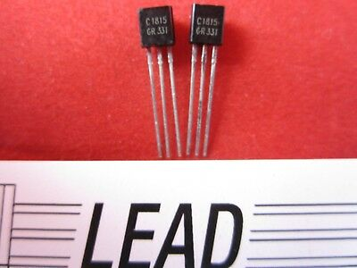 qty 20 part # 2SC1815  TO-92 package  C1815  NPN 50V 0.15A Transistor