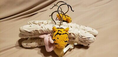 Classic Winnie The Pooh 6 Piece Padded Hangers Set, Tiger, Piglet, Pooh