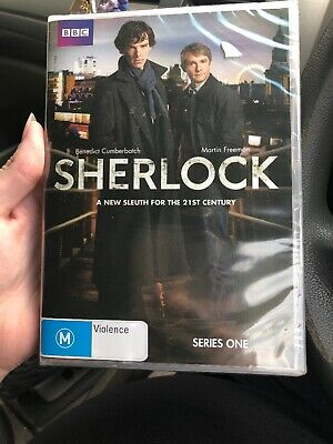 Sherlock : Series 1 (DVD, 2010, 2-Disc Set) Brand New And Sealed