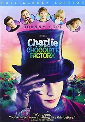 Charlie And The Chocolate Factory (full Screen Edition) - Dvd (Like New)