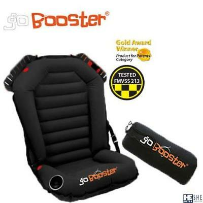 Inflatable child car safety booster seat-Go Booster brand. US,EU certified