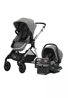 Evenflo Pivot Xpand™ Modular Travel System With Safemax Infant Car Seat (Roan)#2