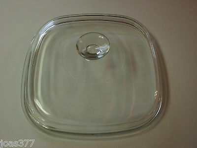 A12C Pyrex Corning Visions Casserole Lid A-12-C High Top Clear Lid
