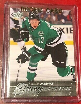 2015-16 Upper Deck Young Guns Mattias Janmark Rookie Card Anaheim Ducks