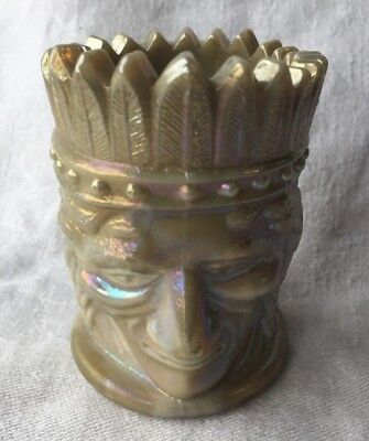 Glass Friendly Joe St Clair Toothpick Holder Art Glass