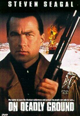 On Deadly Ground - DVD  XXVG The Cheap Fast Free Post