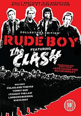 The Clash - Rude Boy: Collectors Edition [DVD] - DVD  6QVG The Cheap Fast Free