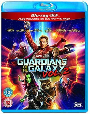 Guardians of the Galaxy Vol.2 3D BD [Blu-ray] [2017] [Region Free] - DVD  ZCVG