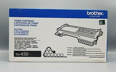Brother TN-450 High Yield Toner Cartridge Genuine