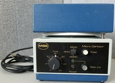 MSE Micro Centaur Centrifuge MSE.41137.224 with 18 Place Rotor