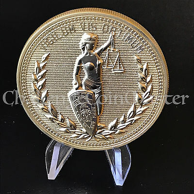 NYPD John Wick Lady Justice Liberty Police CHALLENGE COIN