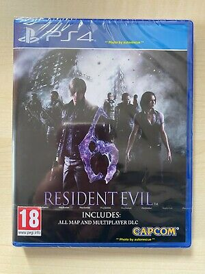 Resident Evil 6 HD (inc all MAP & MULTIPLAYER DLC)  'New & Sealed'  *PS4(Four)*